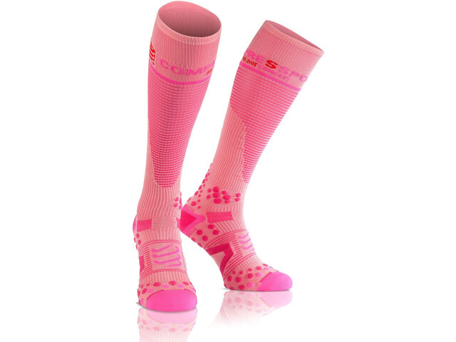 Compressport Full Socks V2.1, pink